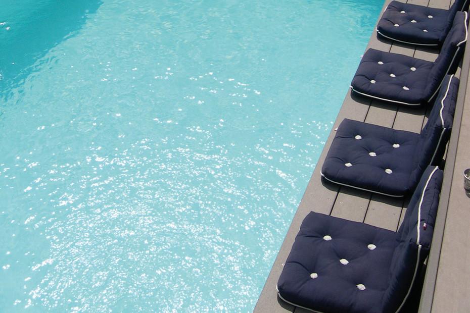 Premium WPC Planks PURE Classic basaltfarben, Private home
