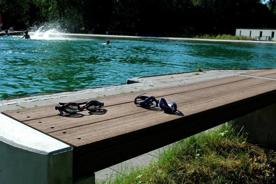 Premium WPC Planks PURE Classic buff, Maria Einsiedel Naturbad