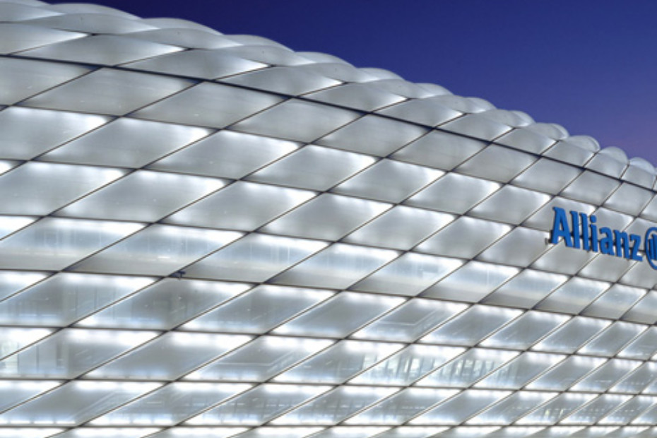 Etfe Film Allianz Arena By Agc Chemicals Stylepark