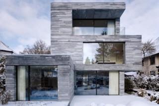 Fenster-Fassadensystem, Haus in Bayern  von  air-lux