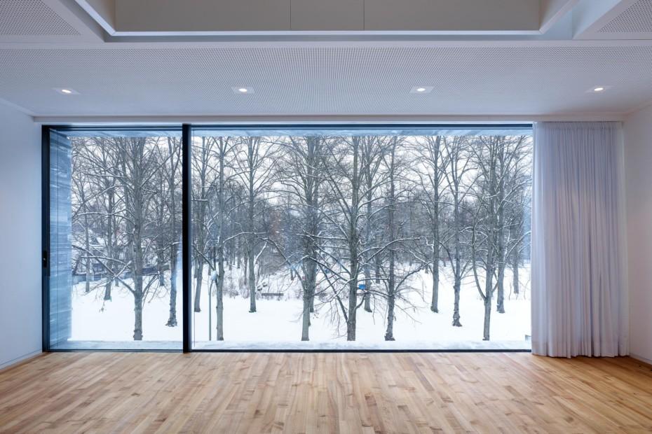 Fenster-Fassadensystem, Haus in Bayern