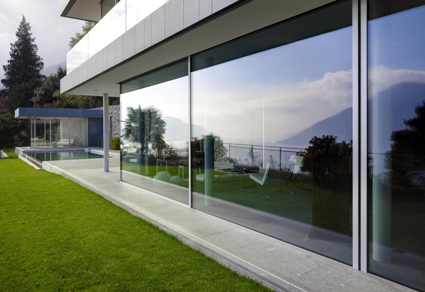 Window And Facade System Domicile In Ticino By Air Lux