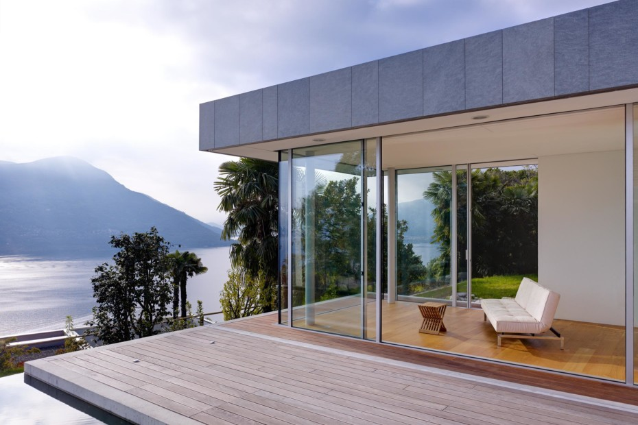 Window and facade system, Domicile in Ticino