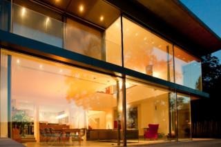 Fenster-Fassadensystem, Haus am Bodensee  von  air-lux