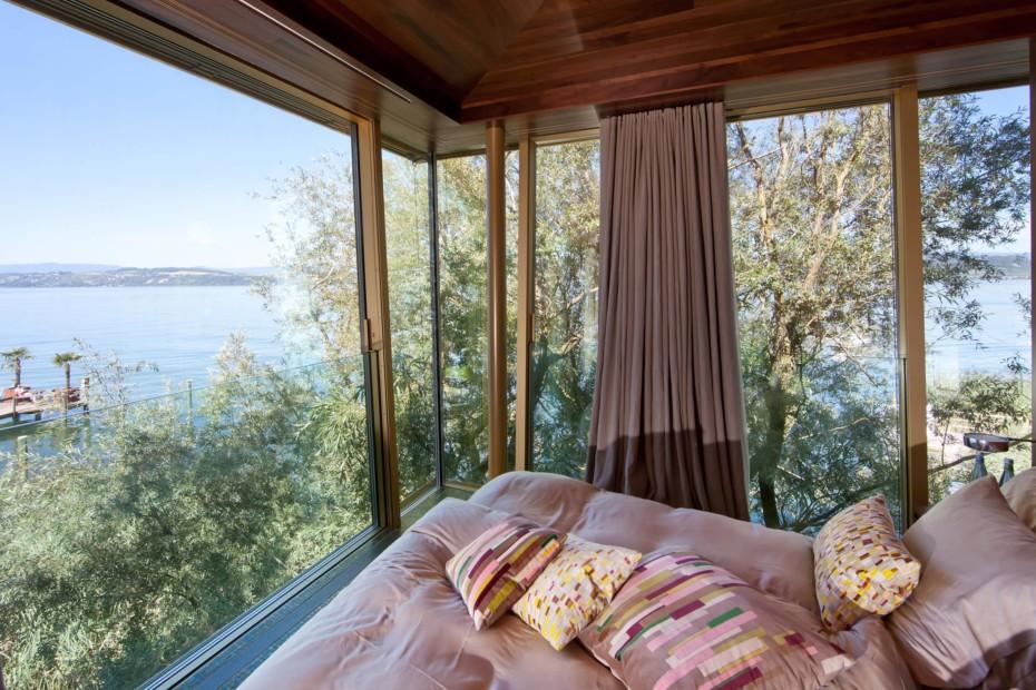 Fenster-Fassadensystem, Baumhotel