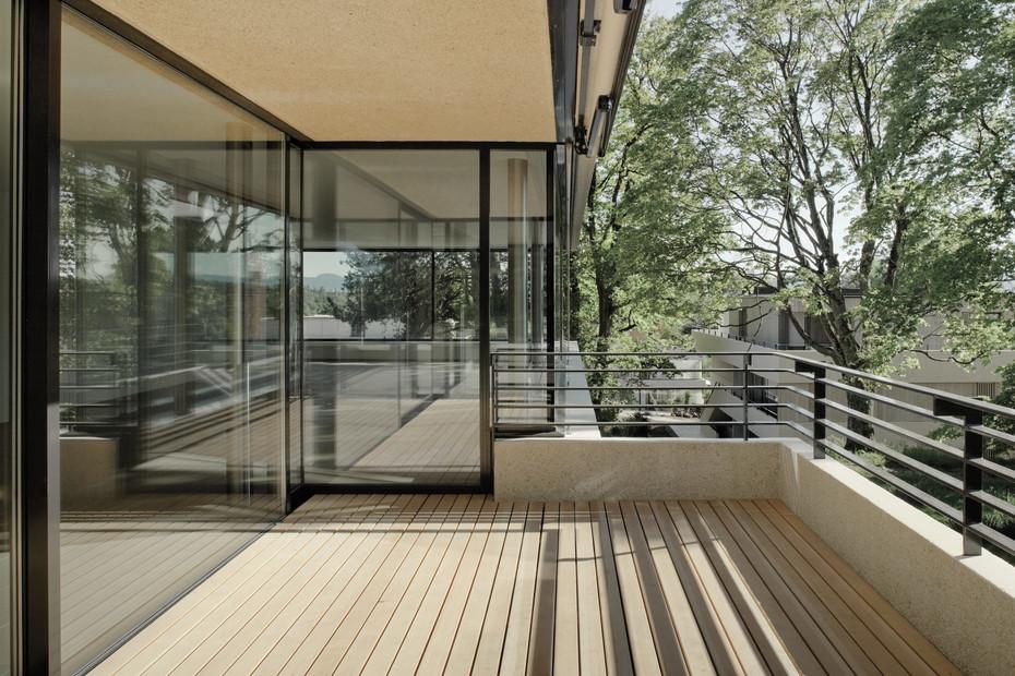 Fenster-Fassadensystem, Villen im Park