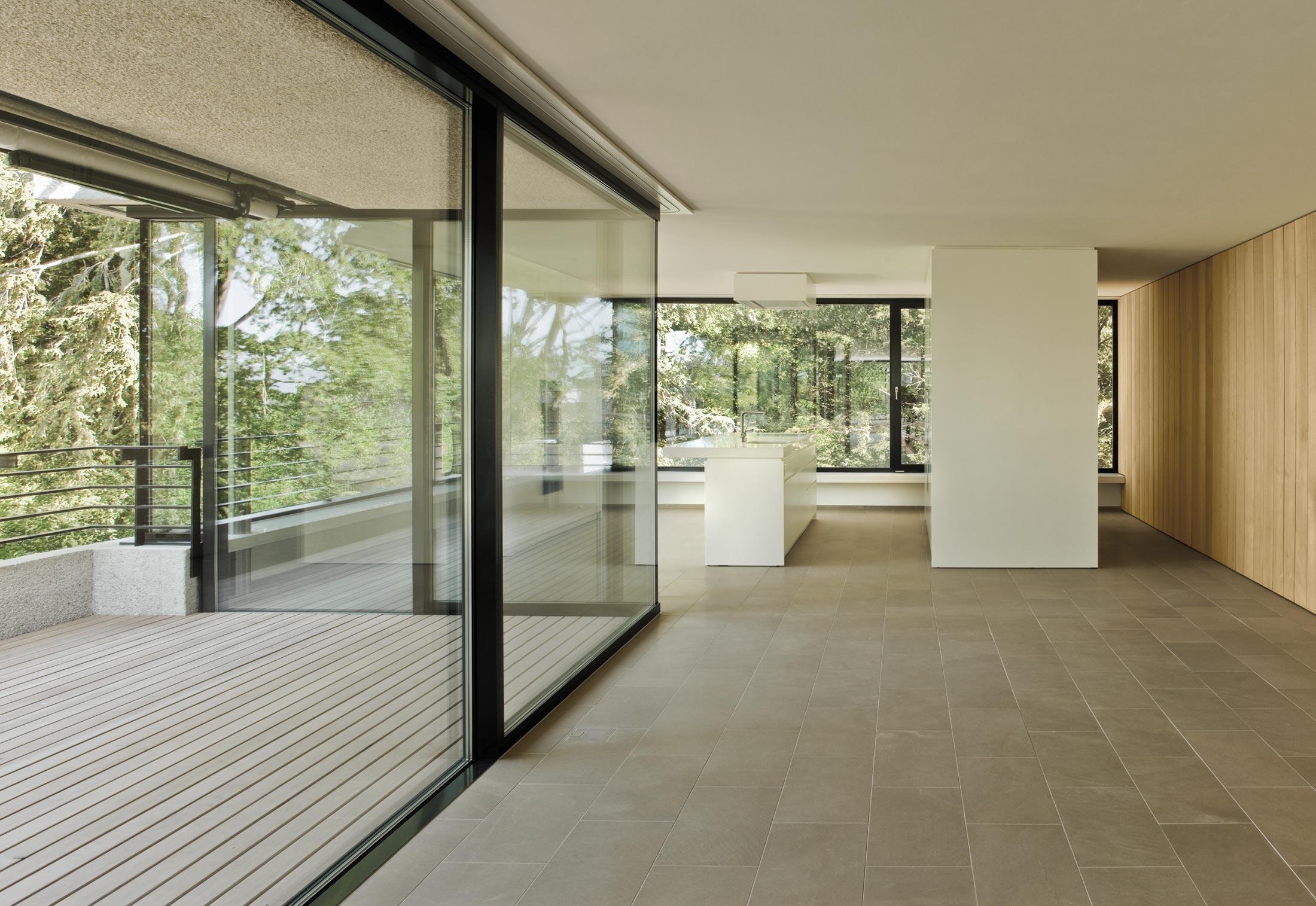 fenster fassadensystem villen im park von air lux stylepark. Black Bedroom Furniture Sets. Home Design Ideas