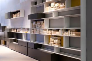 Line shelf  by  Albed
