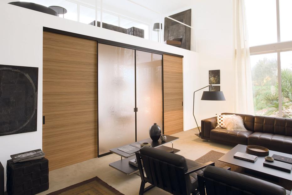 Quadra double sliding door