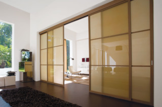 Screen double sliding doors  by  Albed