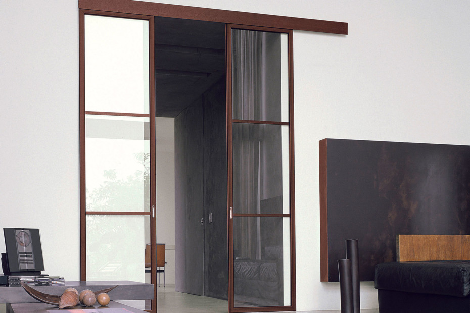 Screen double sliding doors by albed stylepark for Double sliding screen door
