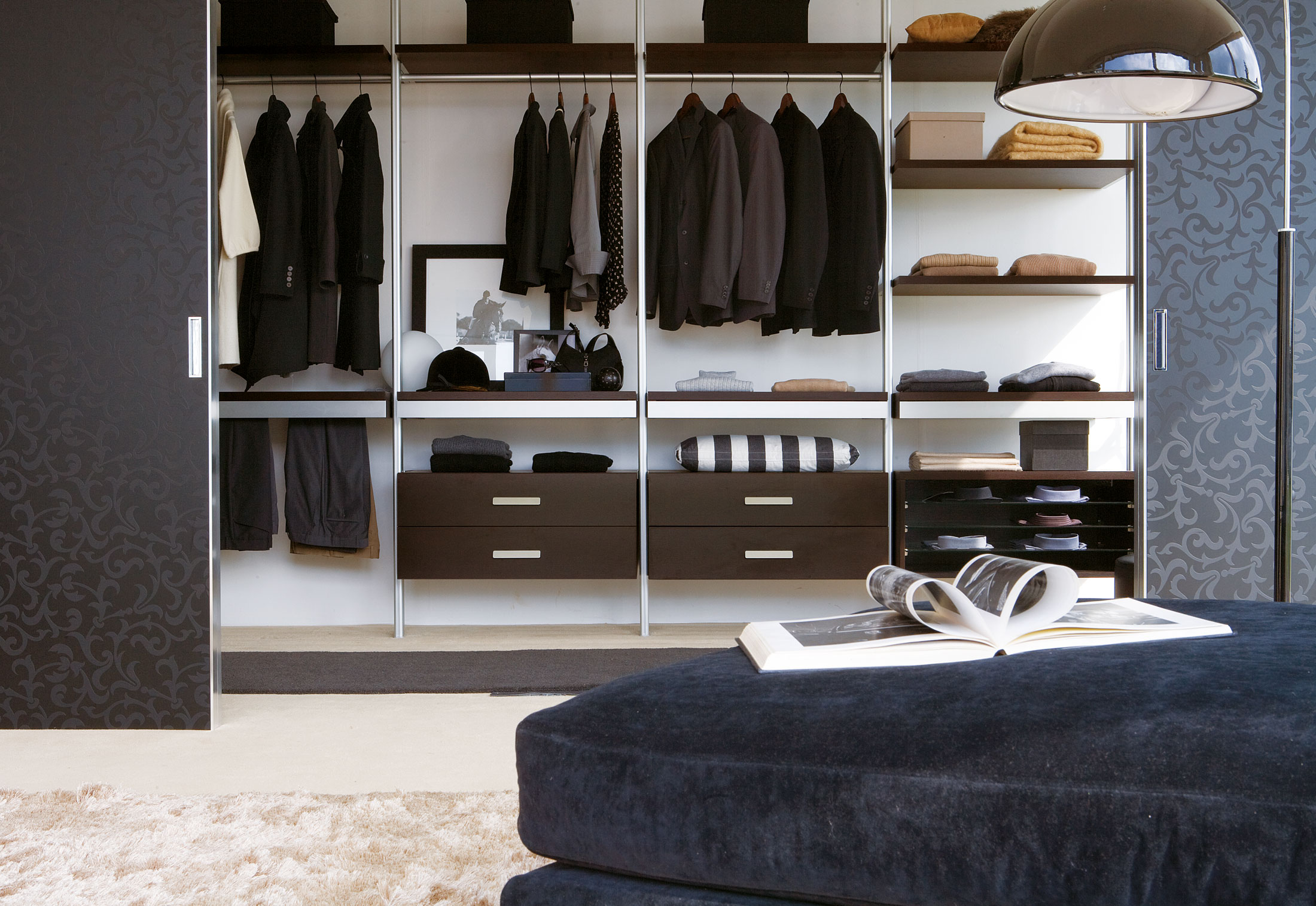 screen wardrobe by albed stylepark. Black Bedroom Furniture Sets. Home Design Ideas