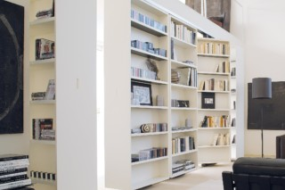 Vista pivoted shelf system  by  Albed