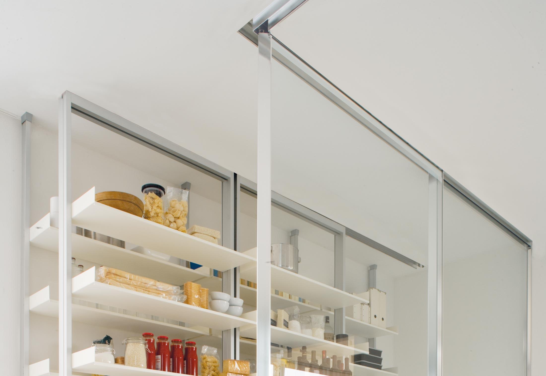 Vista Trennwandsystem mit Schiebetür (Küche) von Albed | STYLEPARK
