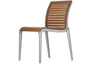 teak chair 475  von  Alias