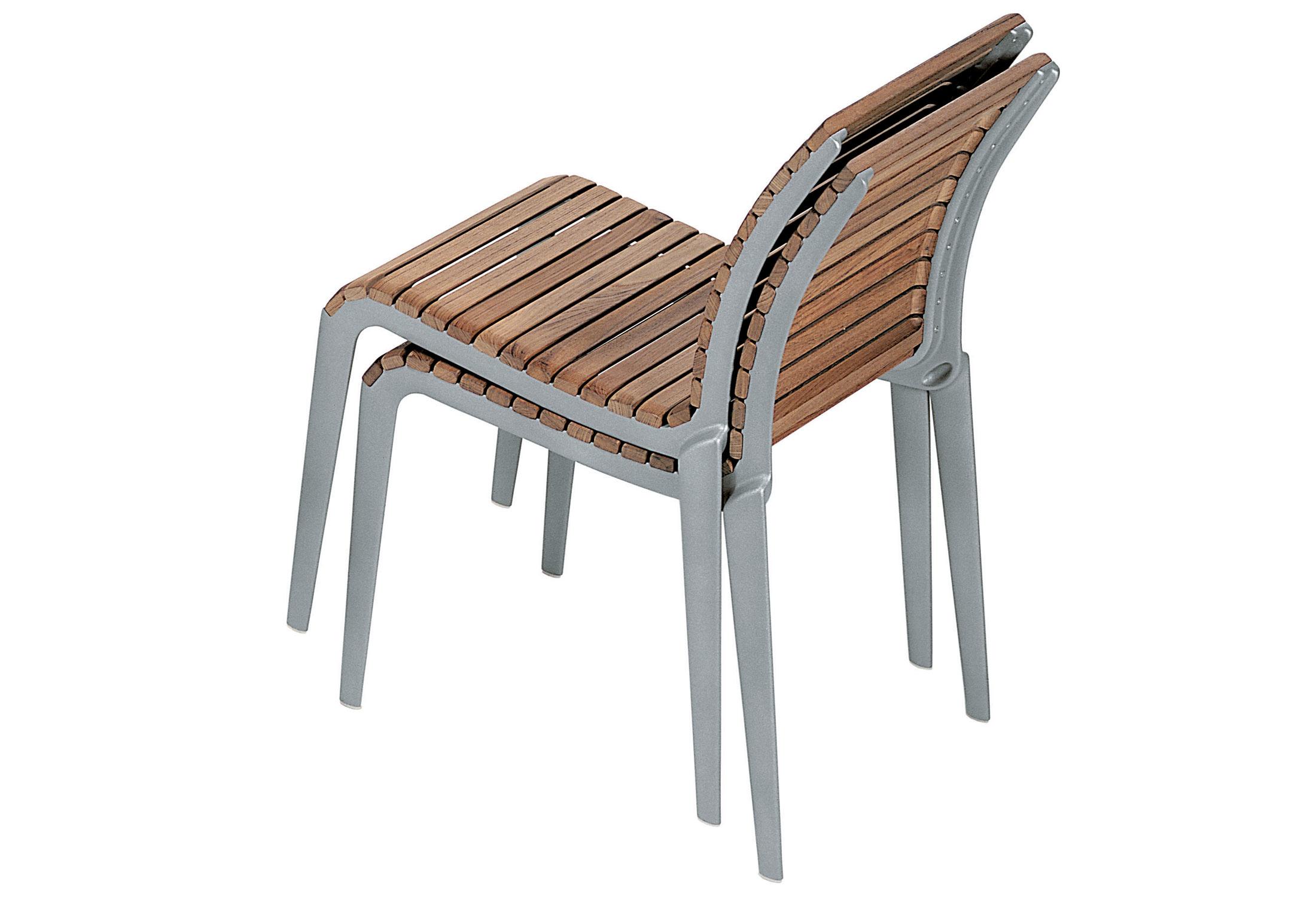 teak chair 475 by Alias