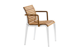 teak chair 476  by  Alias
