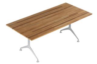 teak table 200F  by  Alias