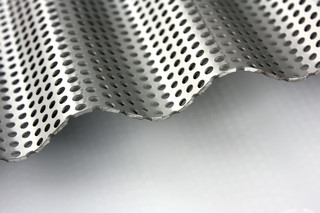 Corrugated and Punched Sheat  by  Alsta®