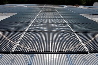 SOLYNDRA® Solar with EVALON® roofing membranes  by  Alwitra