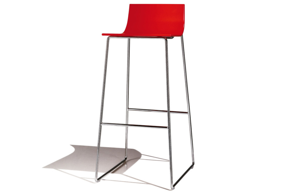 Lineal bar stool