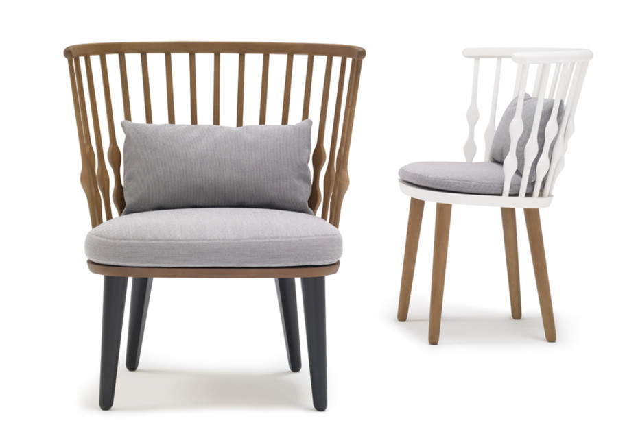 Andreu World Element Lounge Chair