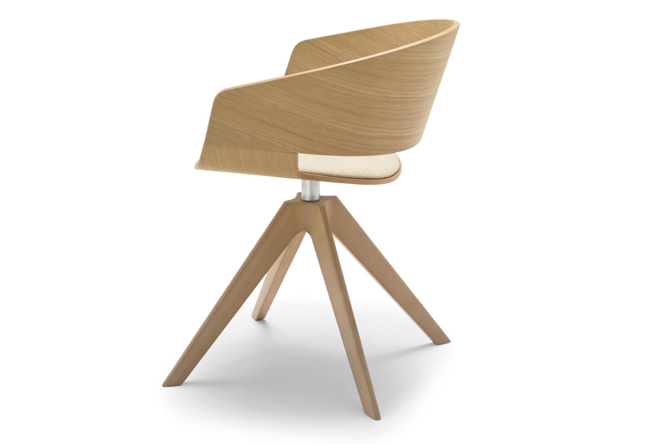 Drehstuhl weiß holz  Ronda Drehstuhl Holz von Andreu World | STYLEPARK