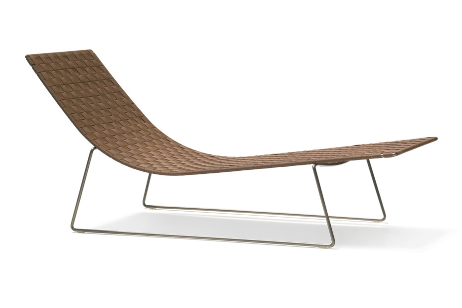 Trenza chaise longue by andreu world stylepark for Chaise longue paris