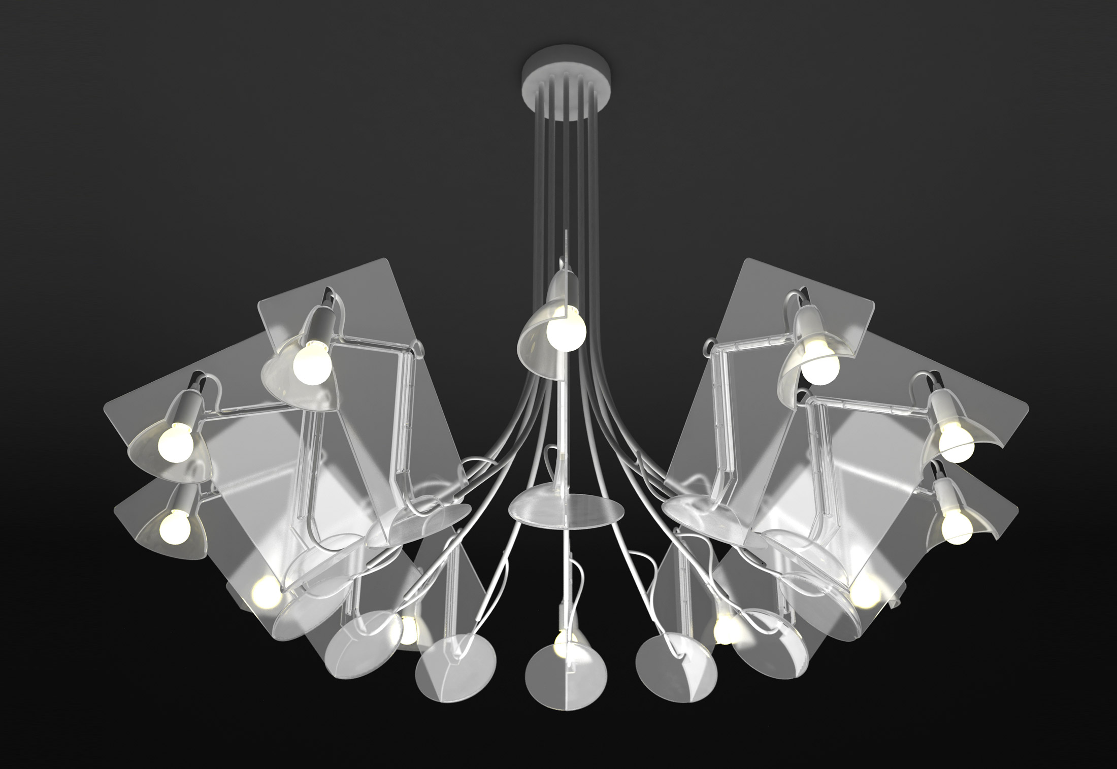 Fifty Chandeliers