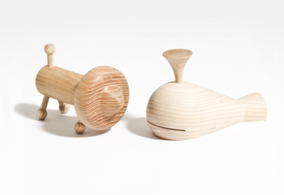 Turned Wooden Toys