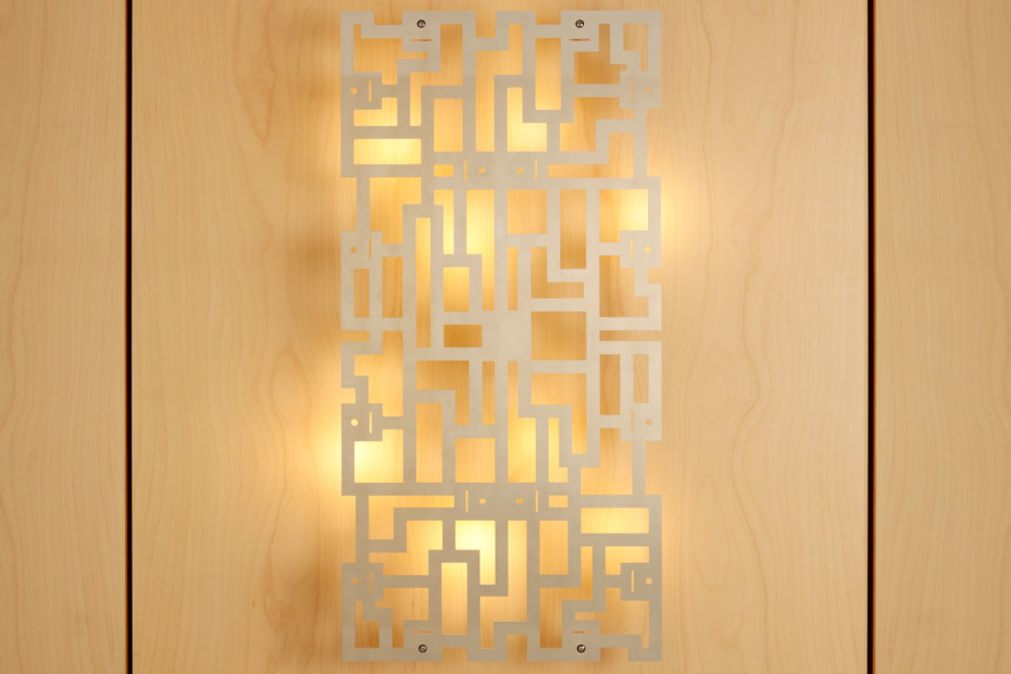 Alumega wall light