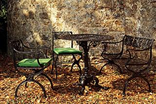 Cast-iron furniture  by  anthologie QUARTETT
