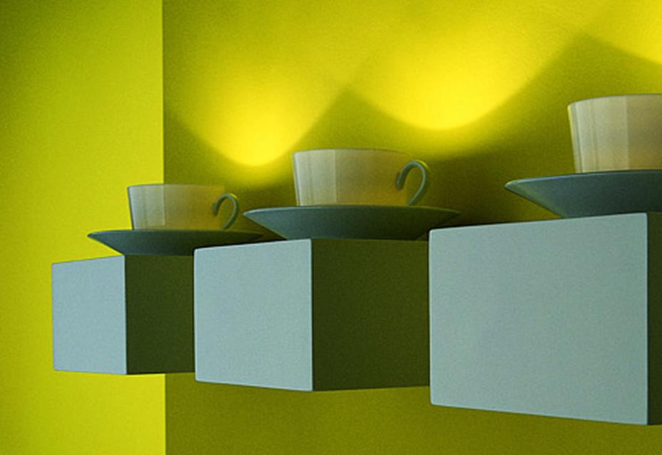 Coffee light Wandleuchte
