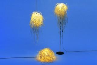 Illustri floor lamp  by  anthologie QUARTETT