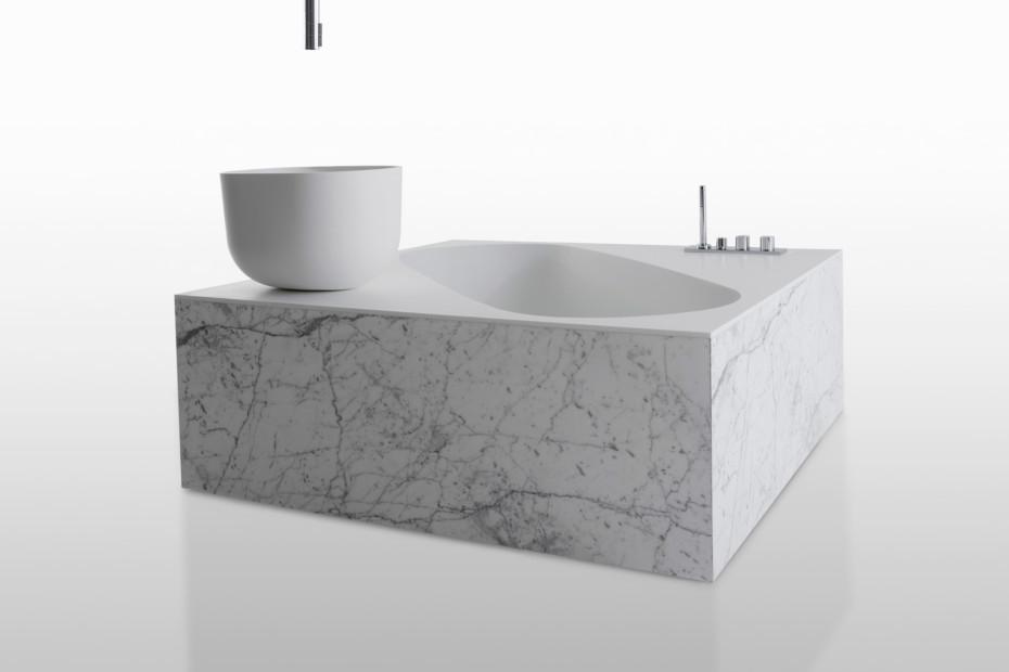 Exelen bathtub freestanding