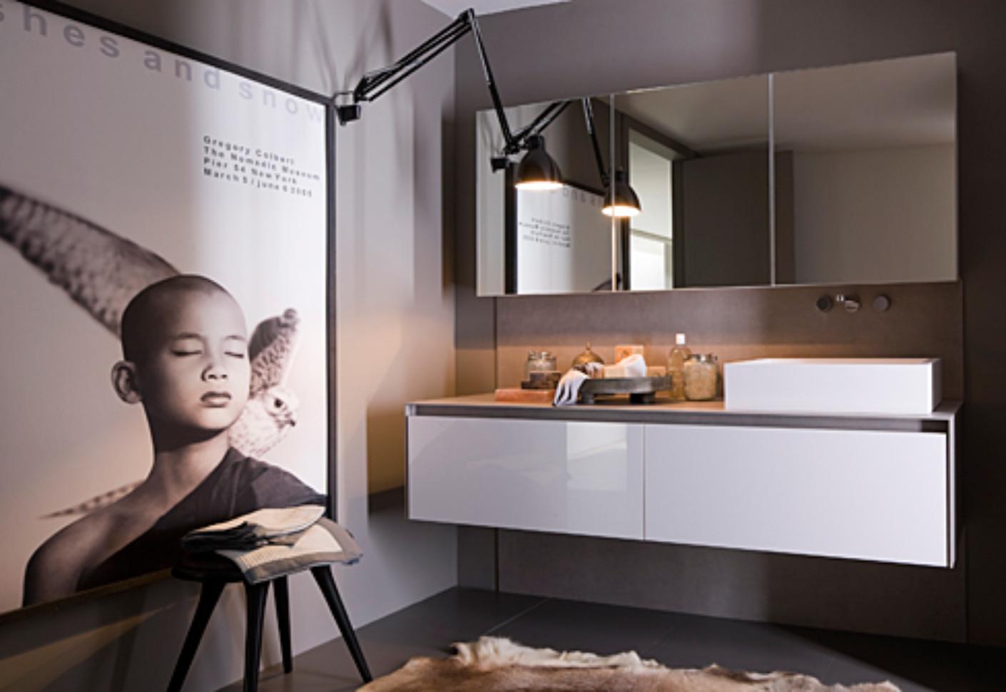 Gamma bathroom white by Arclinea