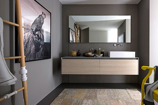 Gamma bathroom wood  by  Arclinea