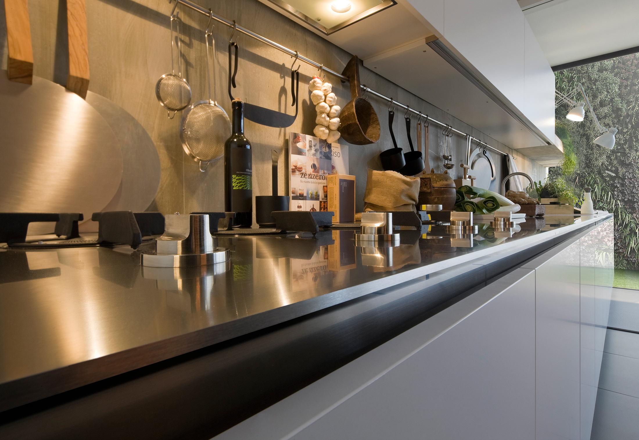 ... Gamma Satin Laminate Küche ...