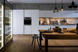 Gamma Vertical Staves kitchen  by  Arclinea