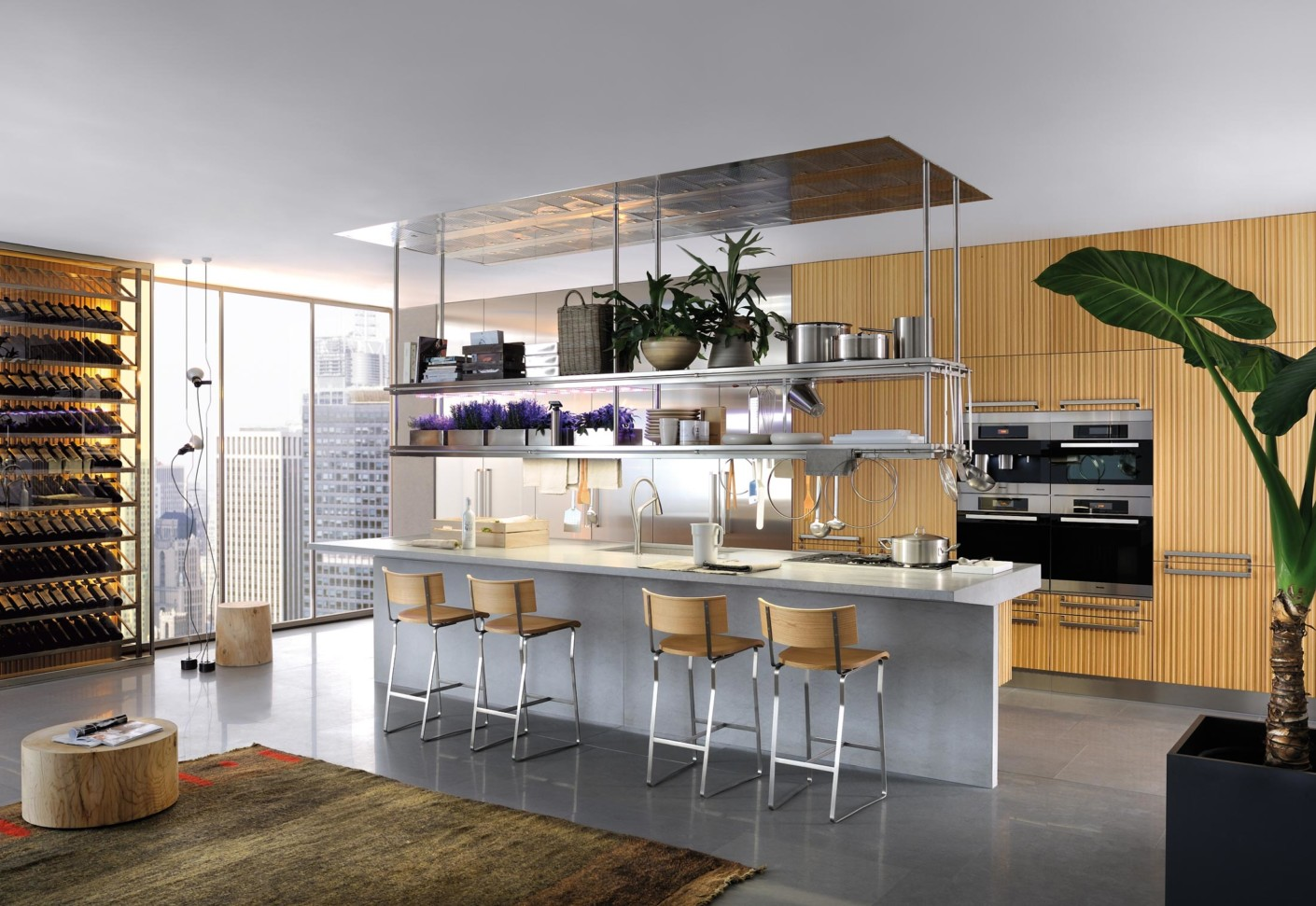 lignum et lapis 1 by arclinea stylepark. Black Bedroom Furniture Sets. Home Design Ideas