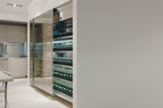 Vina wine storage  by  Arclinea