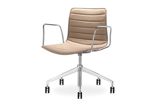 Catifa 46 - 5 ways swivel, aluminium  by  Arper