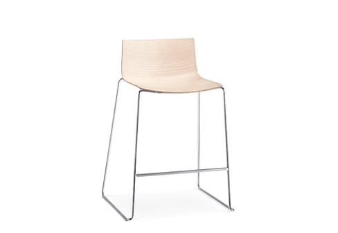 Catifa 46 Sled Counter Stool By Arper Stylepark