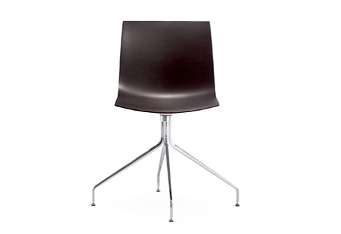 catifa 46 trestle swivel chrome steel by arper stylepark. Black Bedroom Furniture Sets. Home Design Ideas