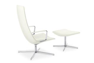 Catifa 60 Lounge - Vierstrahlig, hohe Rückenlehne  von  Arper
