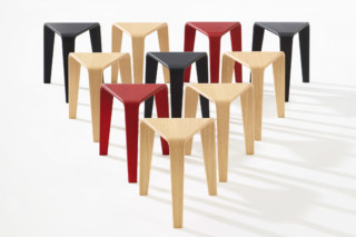Ply - Stool  by  Arper