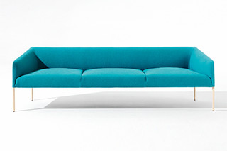 Saari - Sofa 3 seats  by  Arper