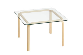 Glass Table Y805B  by  Artek
