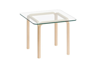 Glass Table Y805C  by  Artek