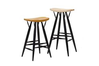 Pirkka bar stool  by  Artek
